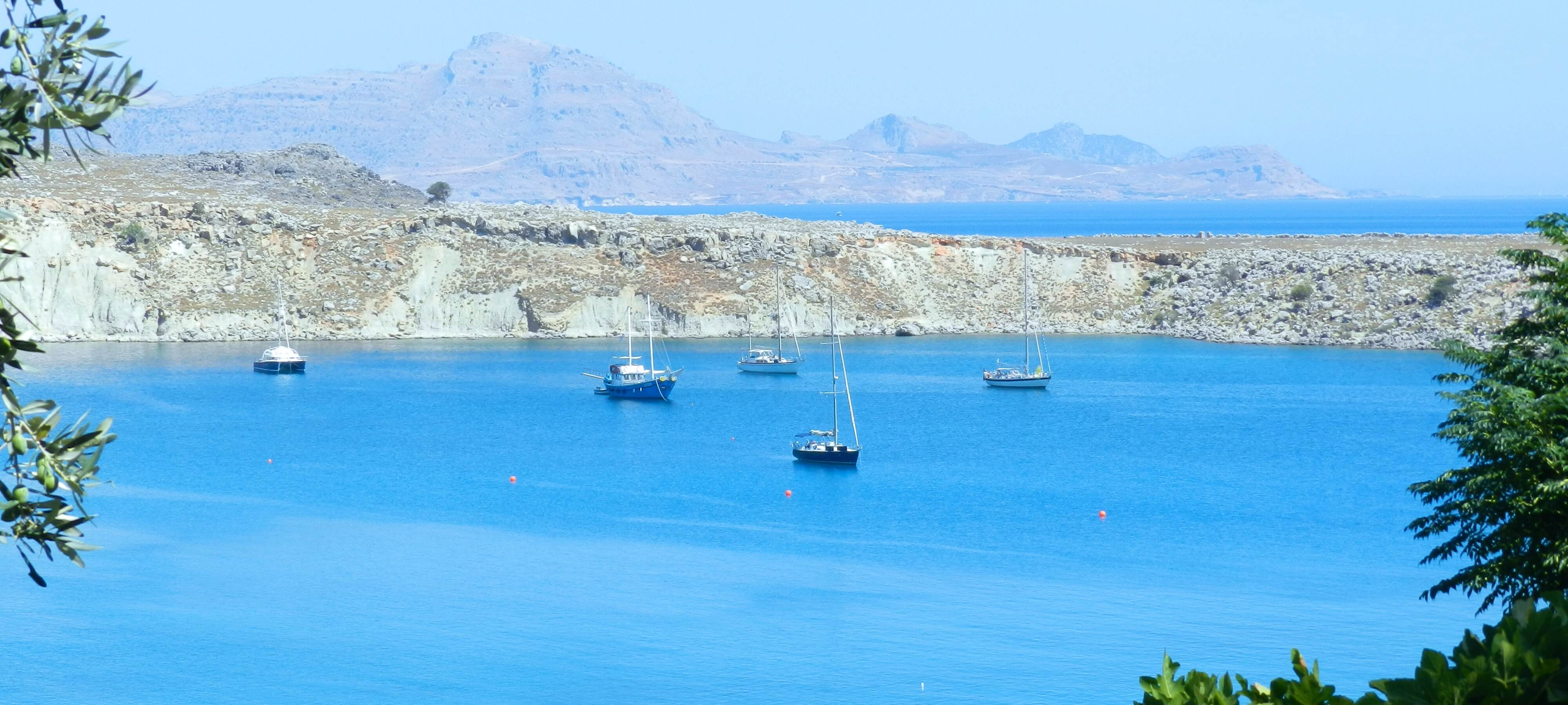 lindos sea view